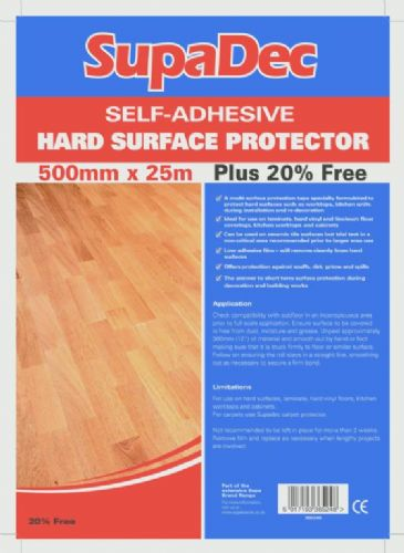 Supa Dec 500mm x 25m hard floor protector